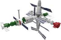 Estação MIR - Puzzles 3D