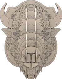 Cabeça de Rinoceronte Puzzles