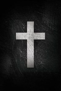 Bíblia ACF, Soft touch, Capa dura, Cruz branca, Leitura Perfeita