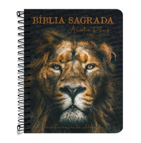 Bíblia anote plus RC - Capa Leão de Judá