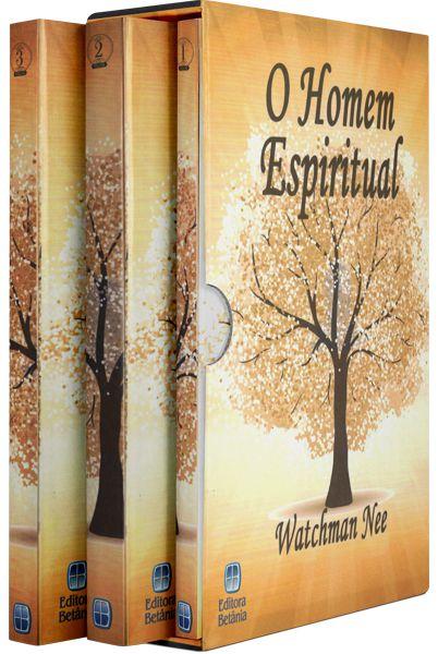 BOX - O HOMEM ESPIRITUAL (VOLS. 1,2 e 3)