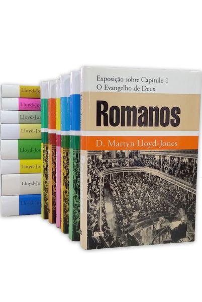 CAPA DURA - ESTUDOS SOBRE ROMANOS - COLEÇÃO (VOLS. 1 A 14)
