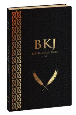 BÍBLIA KING JAMES FIEL 1611 - (Ultrafina Preta)