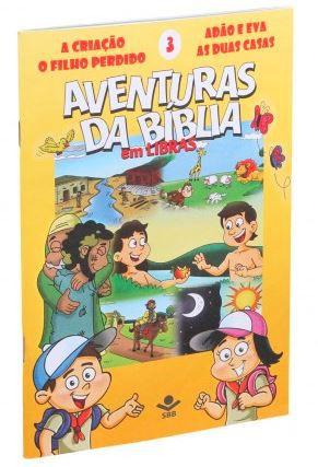 SÉRIE DVD – AVENTURAS DA BÍBLIA EM LIBRAS VOL. 3