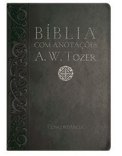 BÍBLIA A. W. TOZER MÉDIA LUXO COM ANOTAÇÕES - PRETA (Revista e Corrigida)