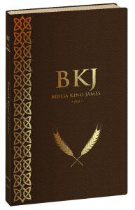 Bíblia King James Fiel 1611 (Ultrafina - Marrom)