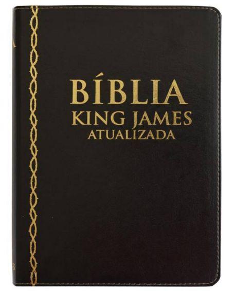 Bíblia King James Atualizada Preta.