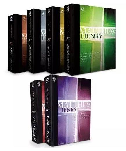 COMENTÁRIO BÍBLICO MATTHEW HENRY OBRA COMPLETA (06 VOLUMES)