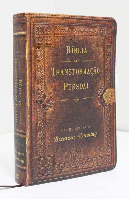 Bíblia de transformação pessoal (soft marrom)