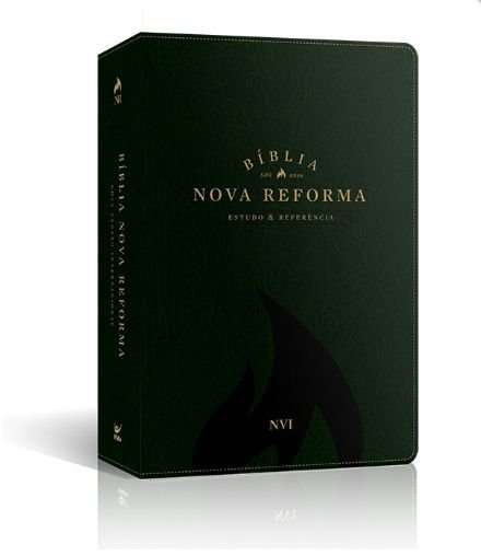 BIBLIA NOVA REFORMA NVI CAPA PU VERDE