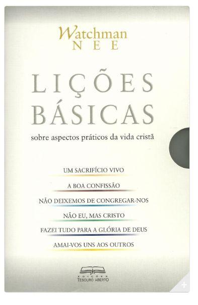 LIÇÕES BÁSICAS - WATCHMAN NEE (BOX COM 06 VOLUMES)