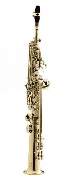 Saxofone Soprano Reto Bb HSST-410L Laqueado HARMONICS