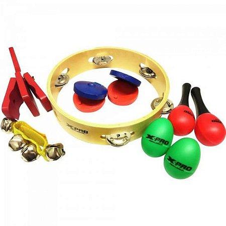 Bandinha Rítmica Infantil 06 instrumentos - CIA