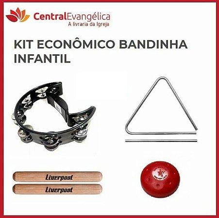 KIT ECONÔMICO BANDINHA INFANTIL