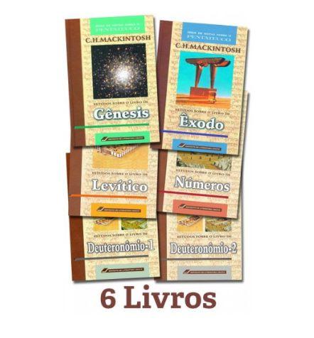 Notas Sobre o Pentateuco - Série completa (06 livros)