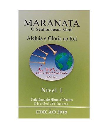 COLETÂNEA CIFRADA 2018 - NÍVEL 1 (caixa com 30 unidades)
