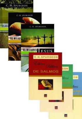Kit Spurgeon - Os milagres de Jesus + Esboços Bíblicos de Gênesis a Apocalipse e Salmos