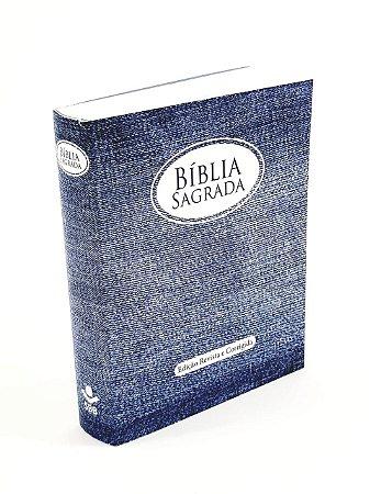 Bíblia de Evangelização / Infantil ICM - Pequena - Azul - Versão 1969