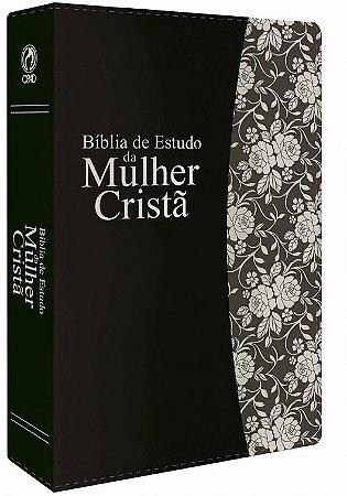 BÍBLIA DE ESTUDO DA MULHER CRISTÃ GDE PRETA