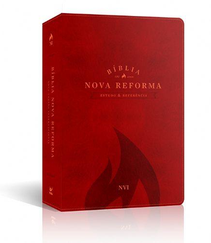 BÍBLIA NOVA REFORMA NVI CAPA VERMELHA