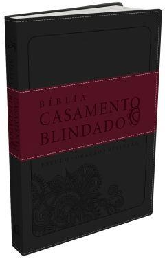 Bíblia Casamento Blindado – Capa Cinza