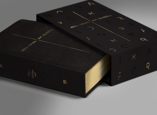 Bíblia de Estudo Nova Versão Transformadora - Capa Preta