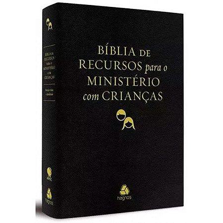 Bíblia de Recursos Para Ministério Com Crianças