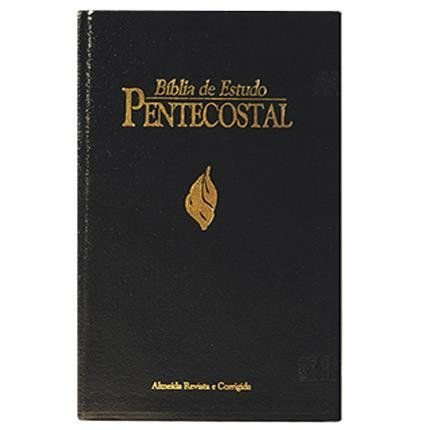 BÍBLIA DE ESTUDO PENTECOSTAL GRANDE - COR PRETA