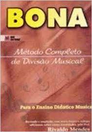 MÉTODO DE DIVISÃO MUSICAL BONA CLAVE DE SOL