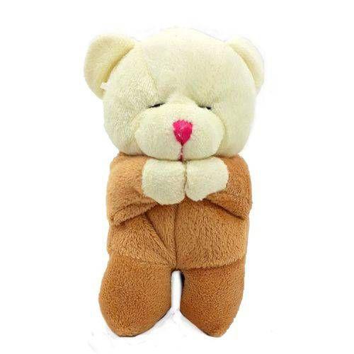 Urso Que Reza Pai Nosso 12 Cm (CHAVEIRO)(CORES SORTIDAS)