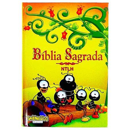 BÍBLIA CAPA DURA - TURMA - AMARELA