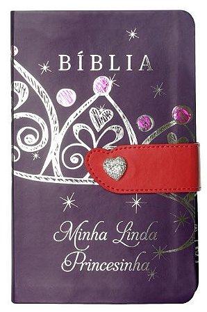 BÍBLIA MINHA LINDA PRINCESINHA - COM FECHO