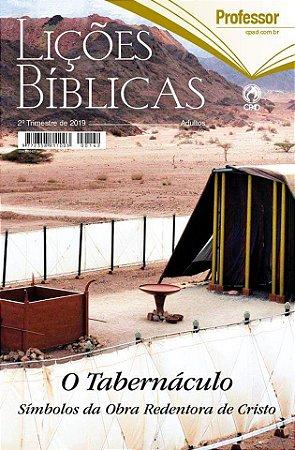 REVISTA LICOES BIBLICAS PROFESSOR (CAPA DURA) (2 TRIMESTRE / 2019)