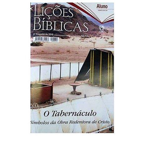 REVISTA LICOES BIBLICAS ADULTO ALUNO (2 TRIMESTRE / 2019)