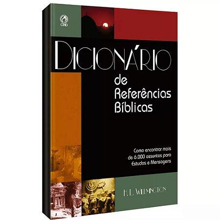 DICIONARIO DE REFERENCIAS BÍBLICAS