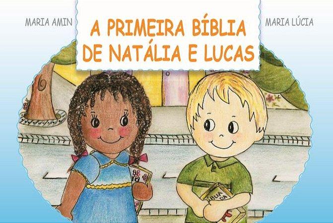 Livro: A Primeira Bíblia de Natália e Lucas