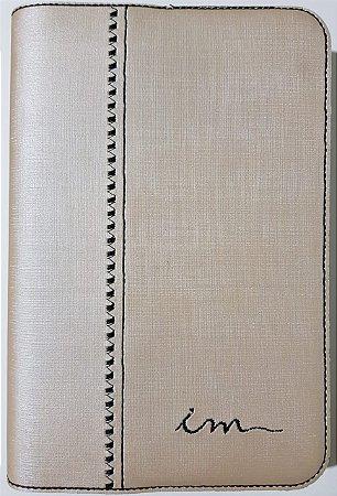 Capa de Bíblia ICM - Champanhe