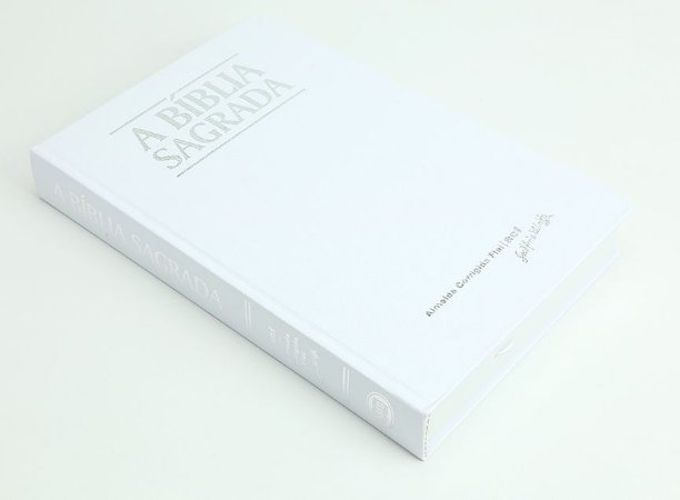 Bíblia ACF Classic Grande - Branca Semi Luxo