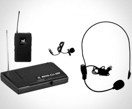 MICROFONE TSI MS115-CLI-UHF