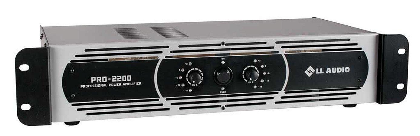 Amplificador de Potência PRO 2200