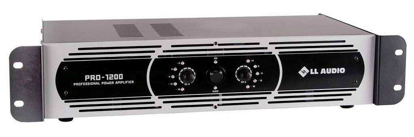 Amplificador de Potência PRO 1200