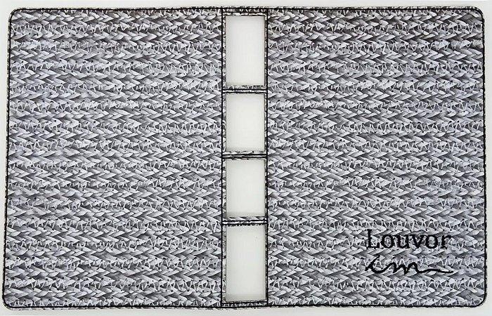 CAPA DE COLETÂNEA CIFRADA 1 ou 2 - Cinza Com Branco