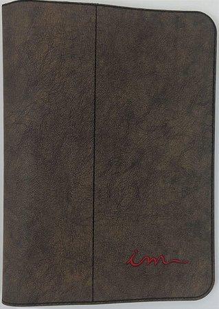 Capa de Bíblia ICM - Marrom Madeira