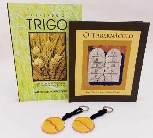 KIT COLHENDO TRIGO VOL 1 E O TABERNÁCULO + BRINDE