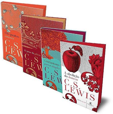 BOX – C. S. LEWIS – 4 VOLUMES – CAPA DURA
