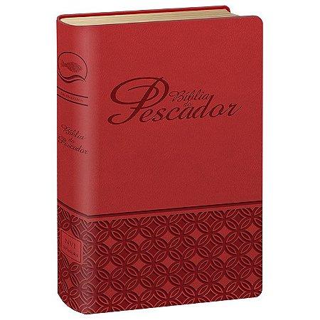 BÍBLIA DO PESCADOR -VERMELHA -  NVI