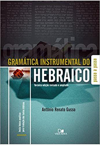 Gramática Instrumental do Hebraico - 3ª Edição