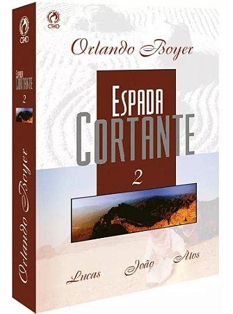 Livro Espada Cortante Volume 2 Orlando Boyer