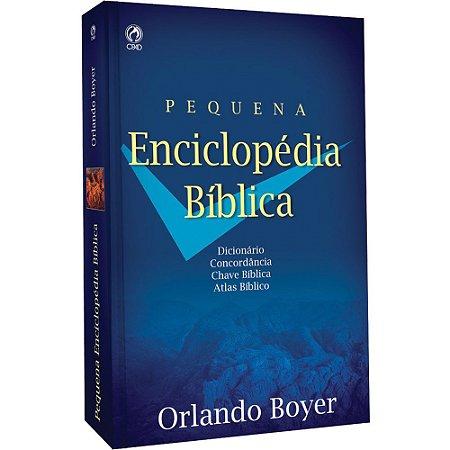 Livro Pequena Enciclopédia Bíblica Orlando Boyer Brochura