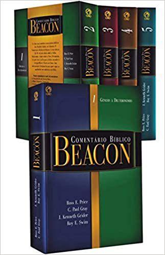 Comentário Bíblico Beacon Antigo Testamento 1 a 5 Capa Dura